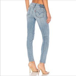 Anthropologie x Levi's Altered 711 Skinny Jean 🦋